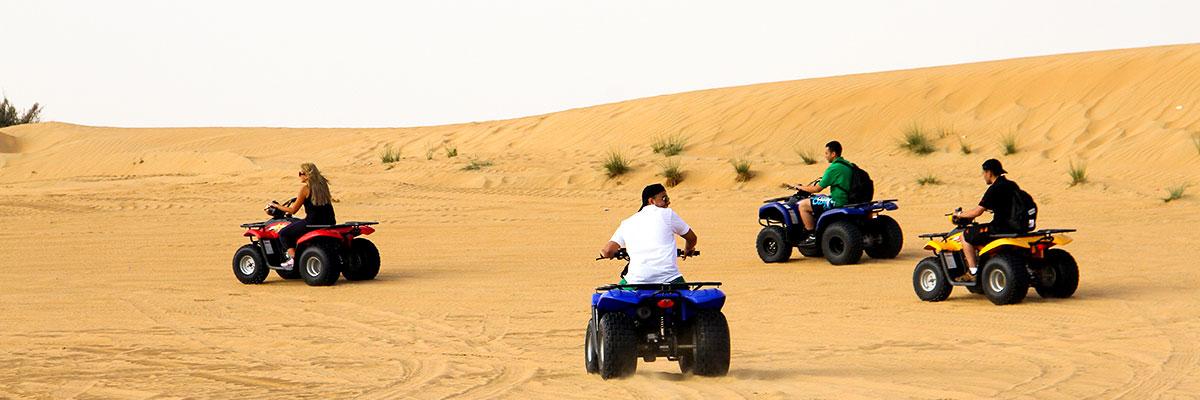 Quad Bike Safari in the Desert