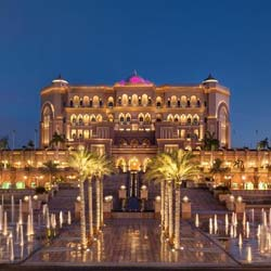 Emirates Palace, Abu Dhabi place to visit