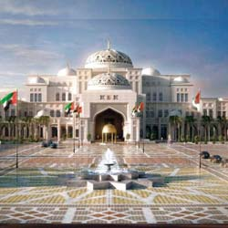 Place to visit in Abu Dhabi - President Palace